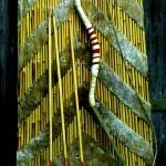 Skythischer Hornbogen, Pfeile, Schild
