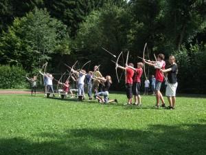 Holzbogen- sommerprojekt THG
