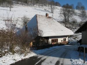 unser Haus im Winter 2010