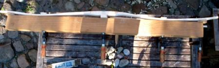 ......bearbeitung von grünholz- rohlingen.........