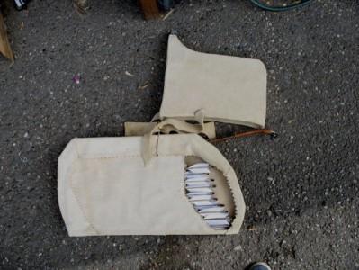 .........pers.Bogentasche(für Bogen und Pfeile)